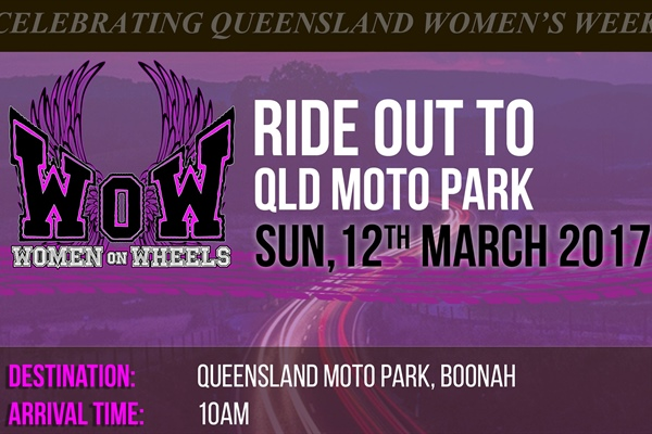Women on Wheels Road Ride